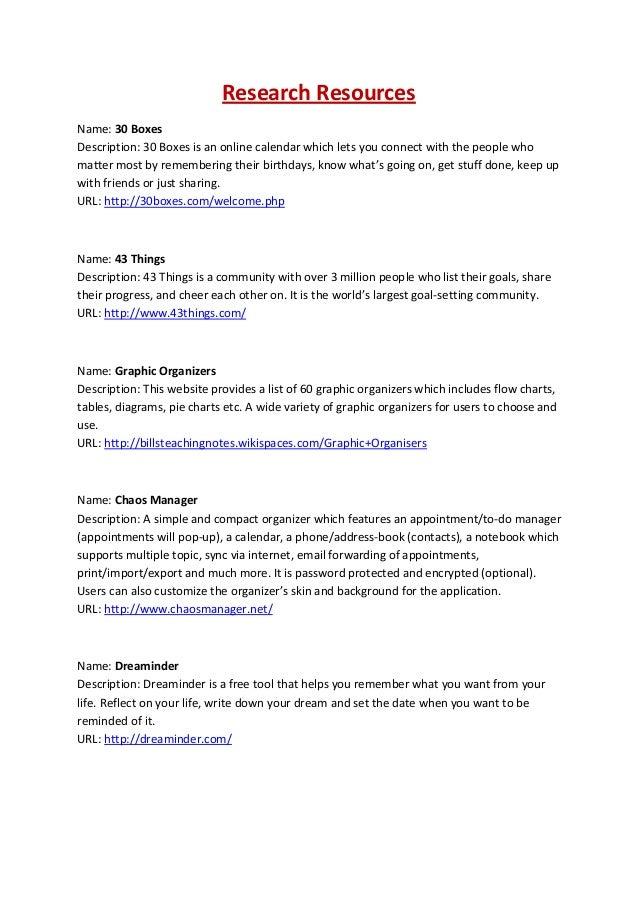online list organizer
