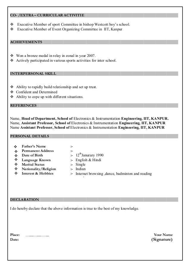 free resume setup ideas how to set up a resume