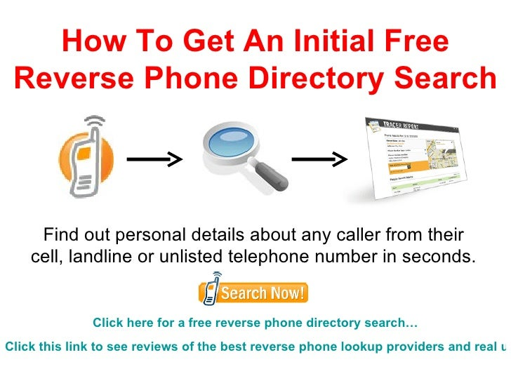 Do a quick reverse phone number lookup to find out who's calling
