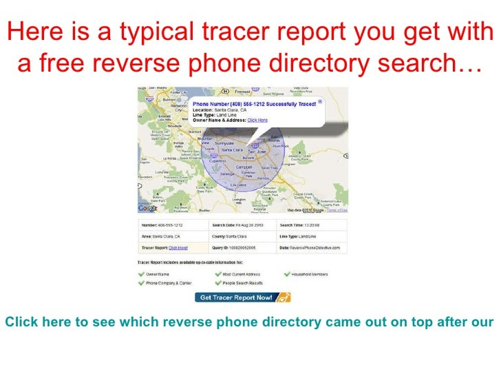 address to phone directory