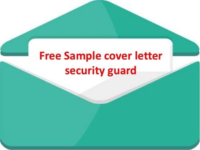 cover letter security guard - Vatoz.atozdevelopment.co