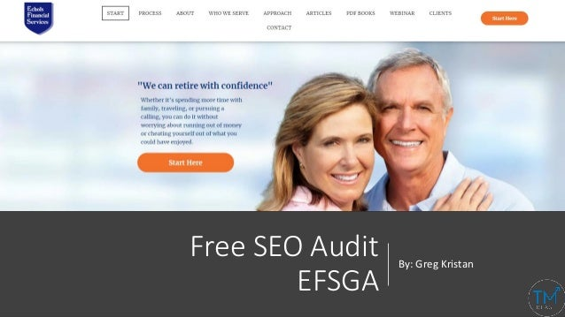 Free SEO Audit EFSGA By: Greg Kristan