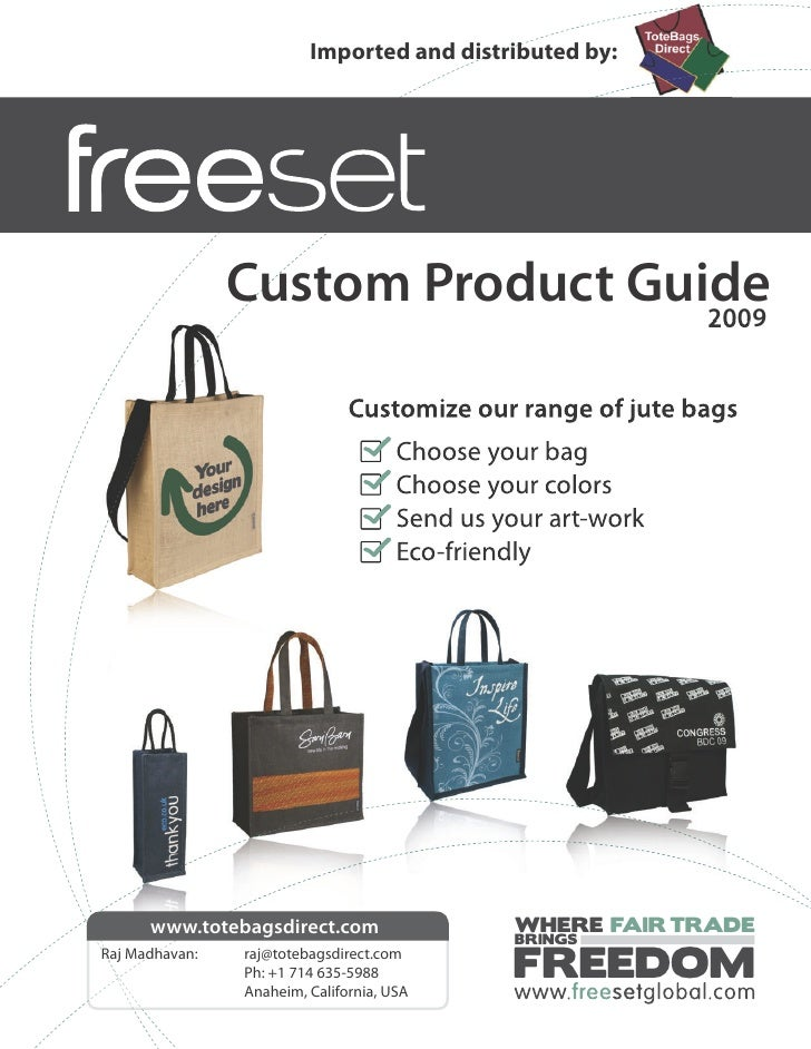 Imported and distributed by:                     Custom Product Guide                                   2009              ...