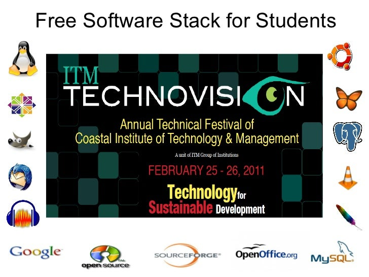 Free Software Stack for Students