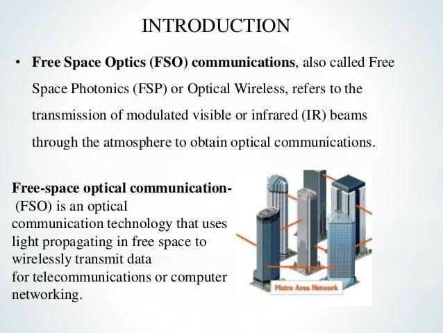 Free space optics (fso).
