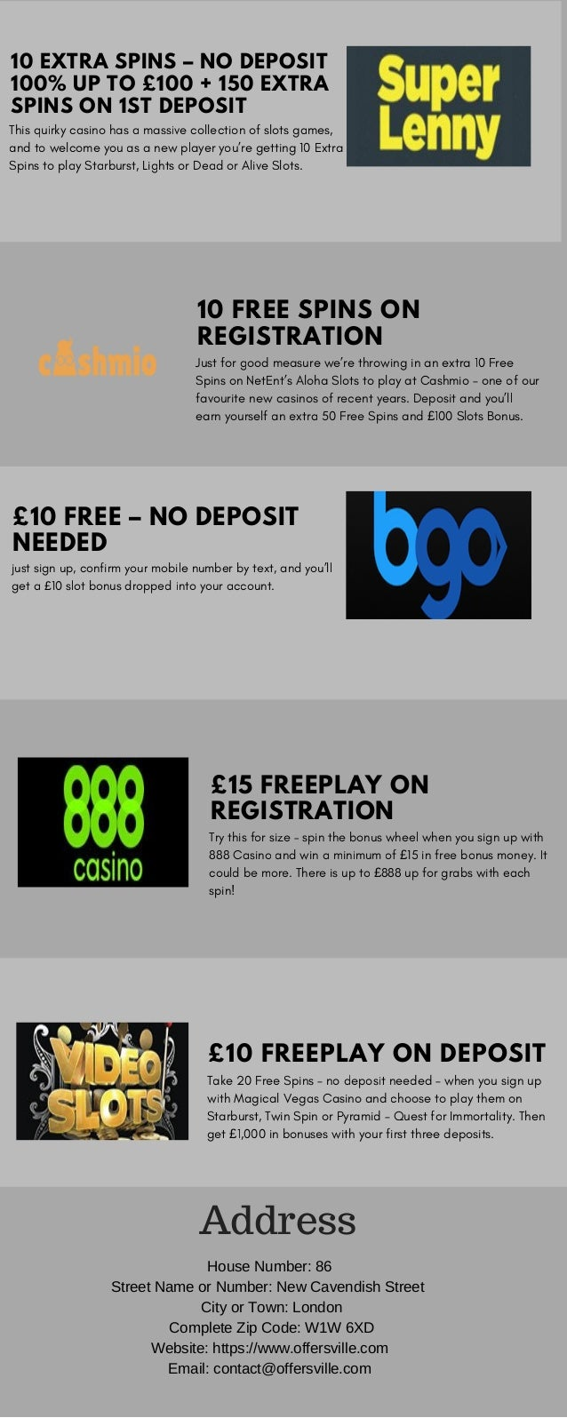 Slots Free Spins No Deposit Uk