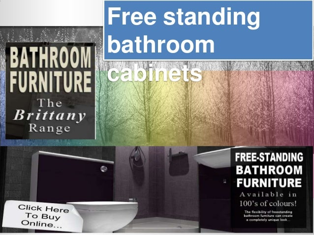 Free standingbathroomcabinets