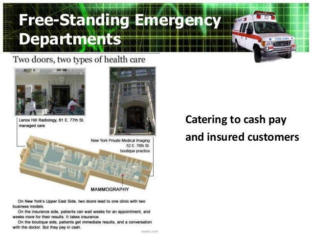 Freestanding ER - R Bays