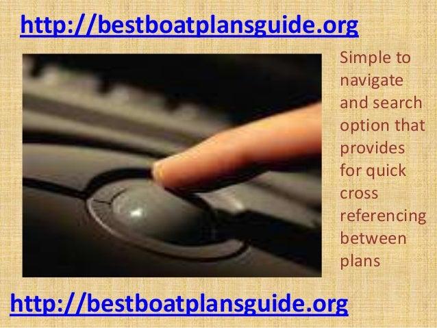 Stitch N Glue Boat Plans