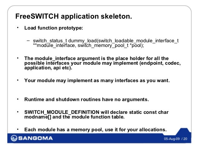 FreeSWITCH Modules for Asterisk Developers