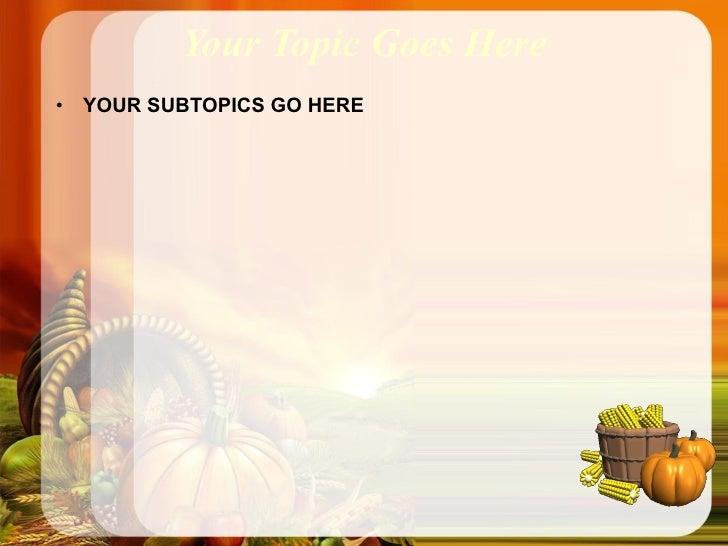 thanksgiving powerpoint templates - Dorit.mercatodos.co