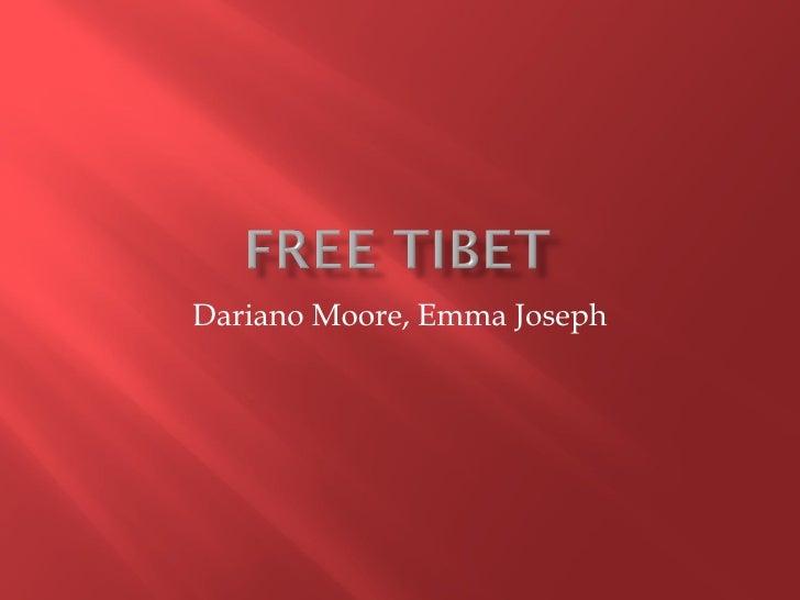Dariano Moore, Emma Joseph