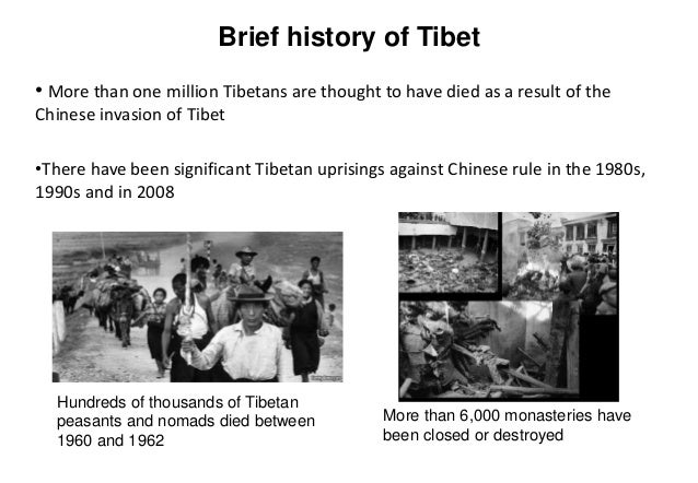 a brief history of the tibetan independence movement in east asia I am grateful to the subcommittee on east asian and pacific affairs for  kagyupa  sect of tibetan buddhism, the restrictions on his movement made it  in short, it is  absolutely clear that unfettered religious practice does not  for tibetan  independence, not for denouncing human rights violations, but simply.