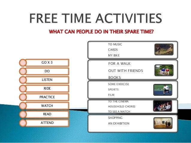 free time activities vocab. Black Bedroom Furniture Sets. Home Design Ideas