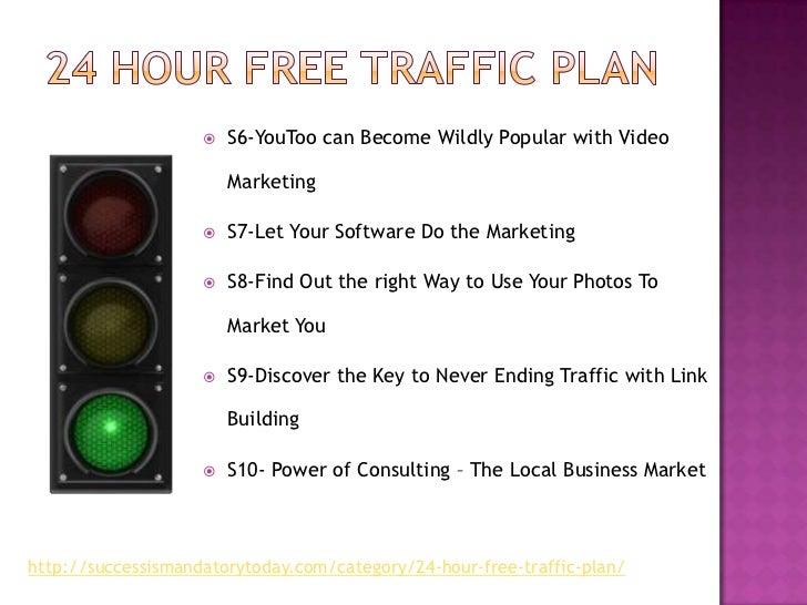 Free traffic in 24 hours Slide 3