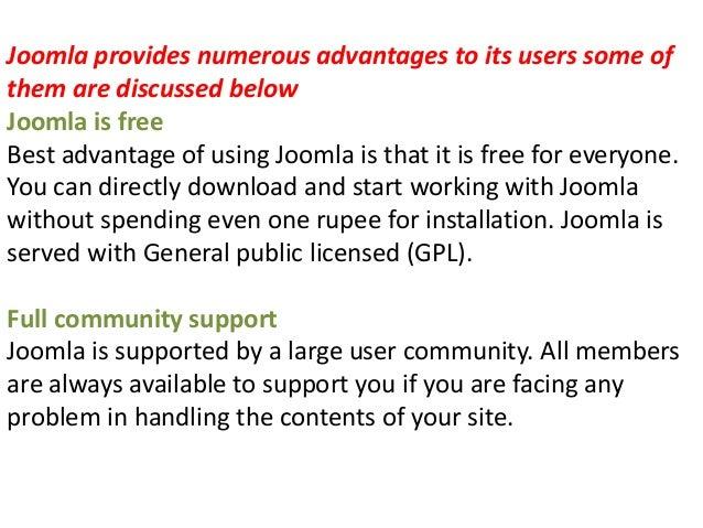 Free tutorials for joomla cms