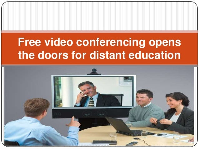 Free video conferencing opens the doors for distant education