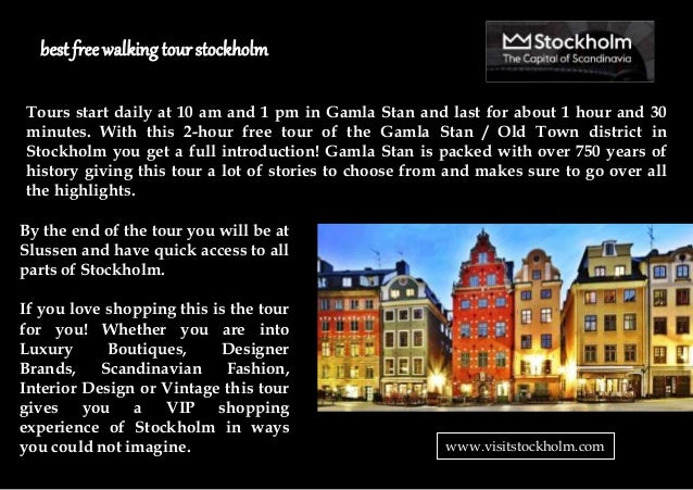 free walking tour gamla stan