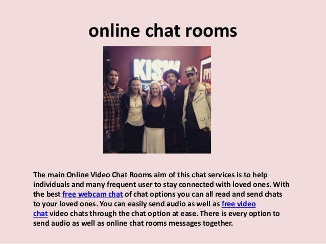 free chat rooms for online chat