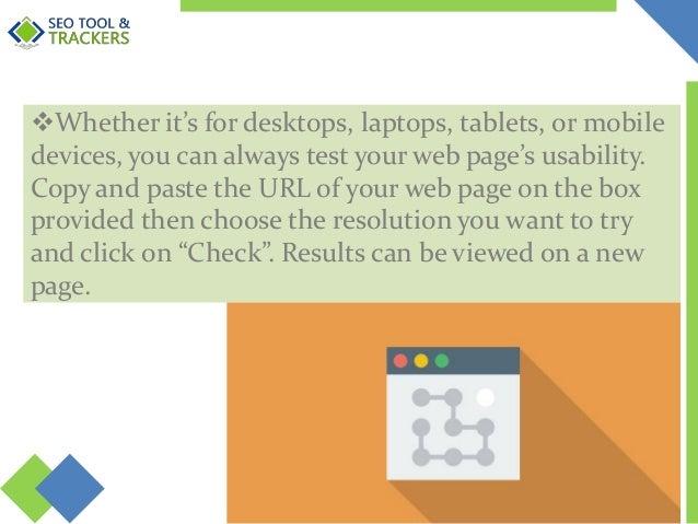 Free Webpage Screen Resolution Simulator - SEO Tool & Trackers