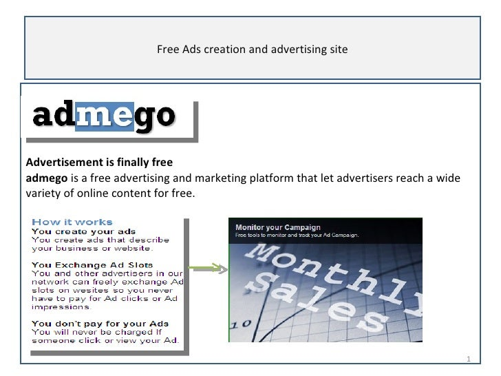 Advertisement is finally free   admego  is a free advertising and marketing platform that let advertisers reach a wide var...