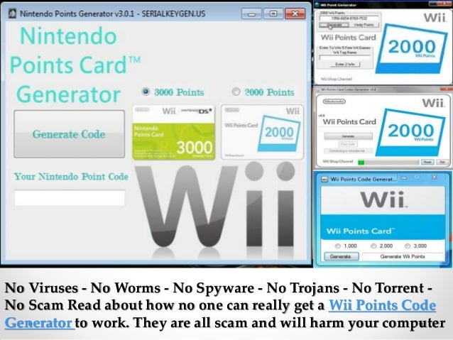how to get free wii points codes