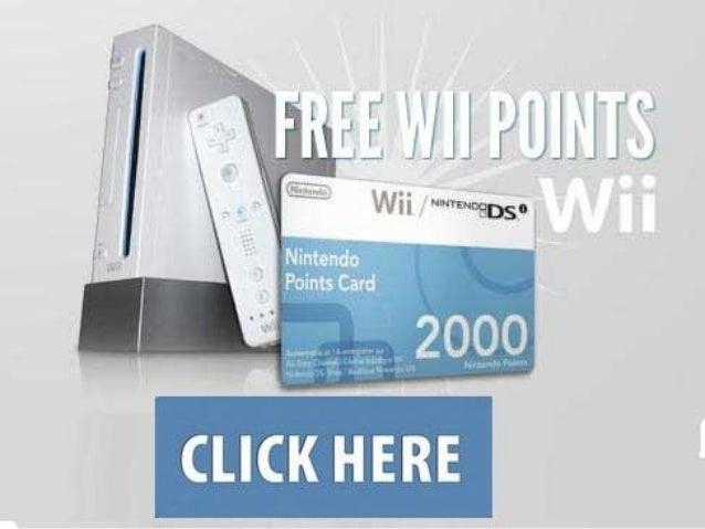 wii points generator download