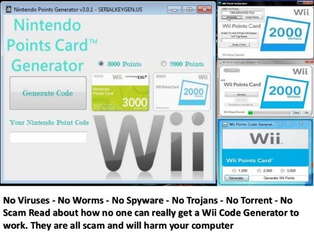 Free wii points generator online.