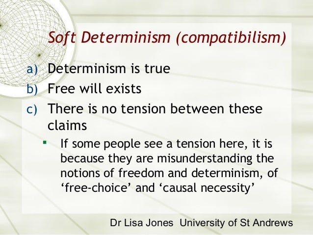 essay on compatibilism This paper argues that compatibilism is a plausible view of free will if one subscribes to soft determinism.