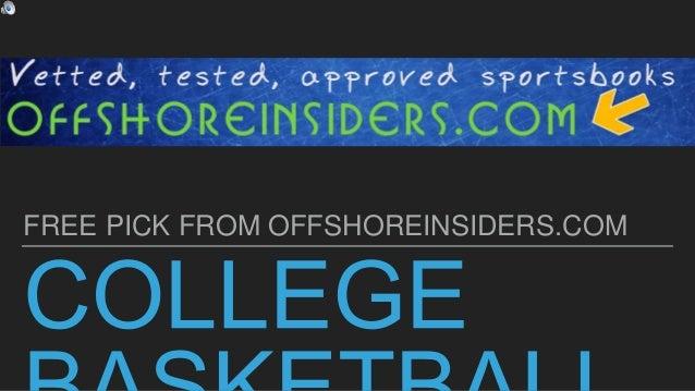 Free sport betting picks betting advice college basketball