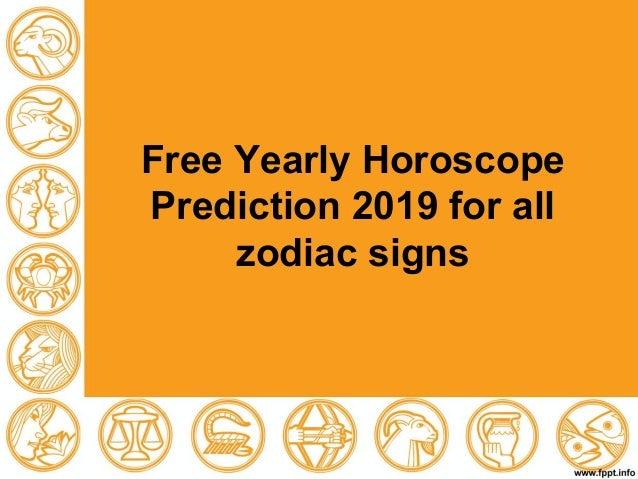 free personal horoscope predictions