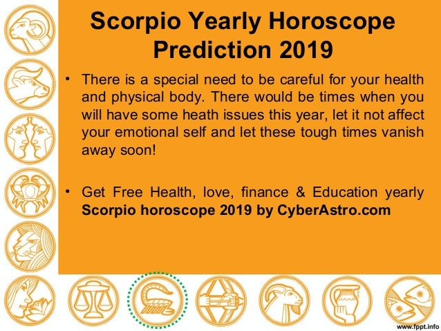 Free yearly horoscope prediction 2019 for all zodiac signs
