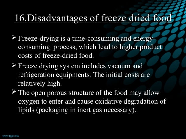 Freeze Drying