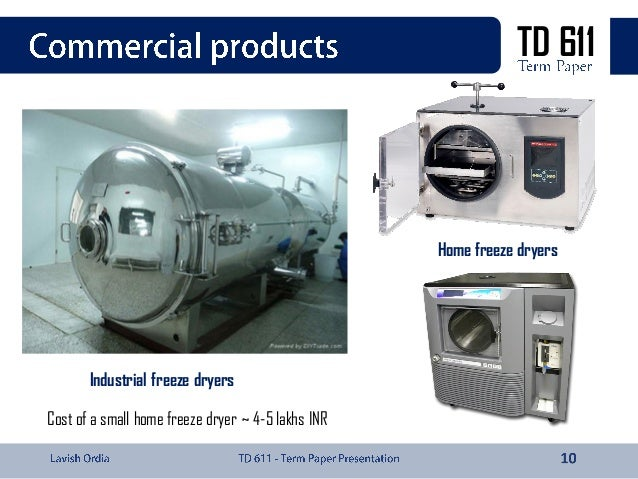 Freeze Drying Technology