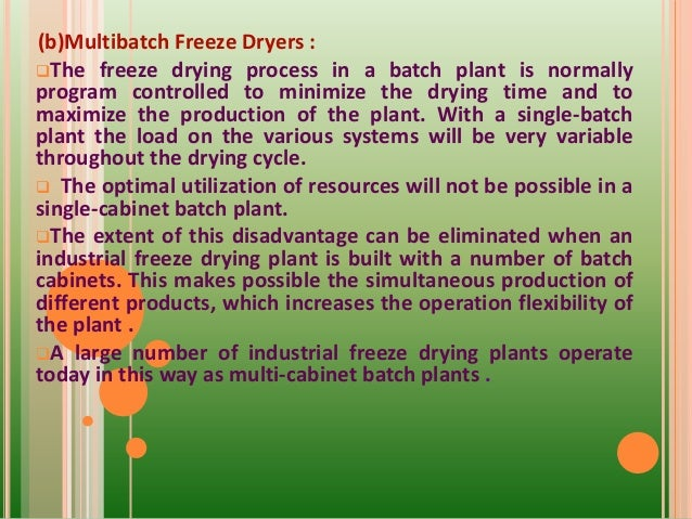 Freeze drying ppt