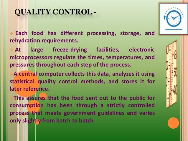 Food quality control ppt