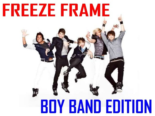 Freeze Frame Game (Boy Band Edition)