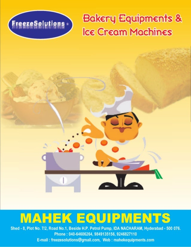 Bakery Equipments by Freeze Solutions