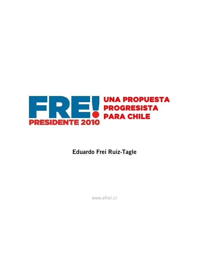 Eduardo Frei Ruiz-Tagle           www.efrei.cl