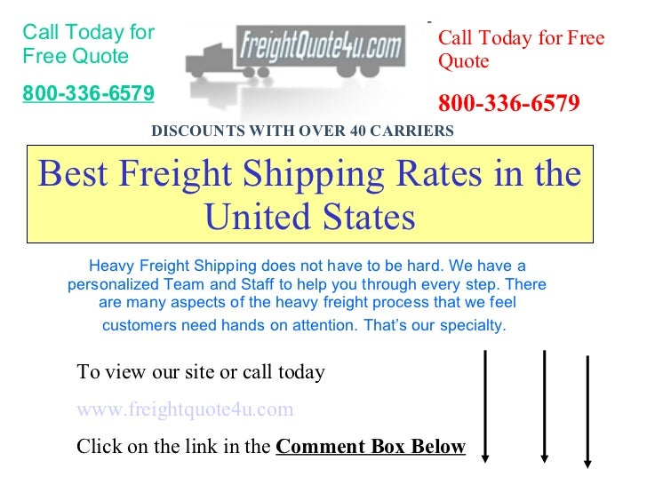 Freight Quote | Freight Quote