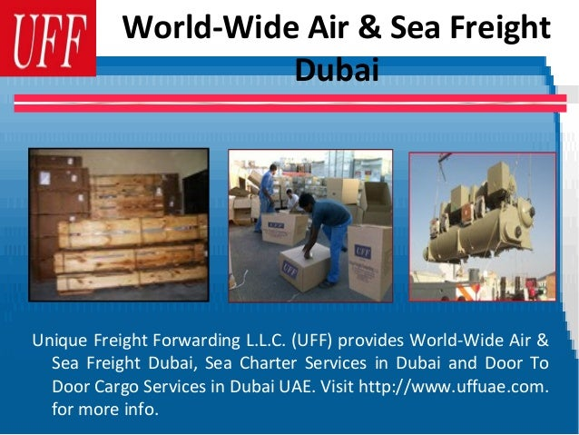 Shipping, Marine and Logistics Services In UAE