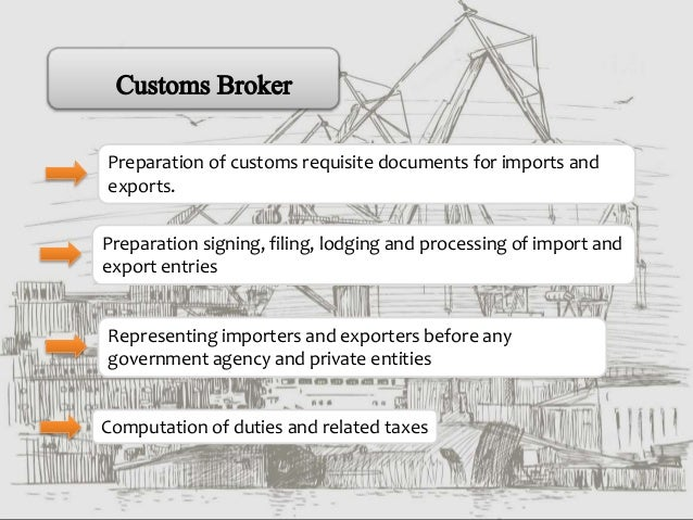 Presentation On Import And Exports Customs