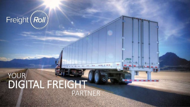 YOUR DIGITAL FREIGHT PARTNER
