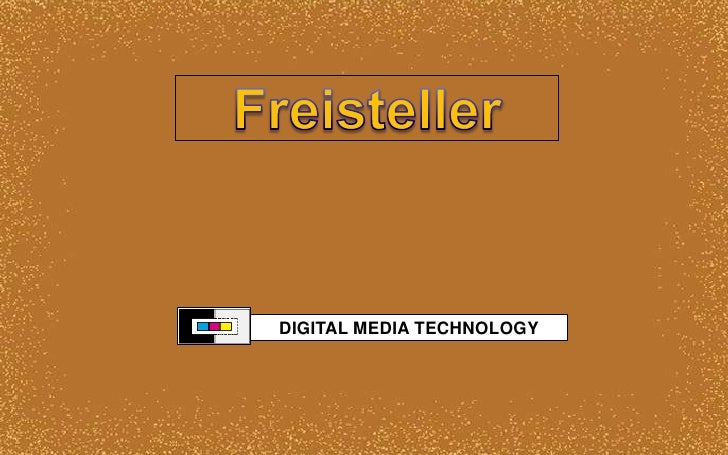 Freisteller<br />DIGITAL MEDIA TECHNOLOGY<br />