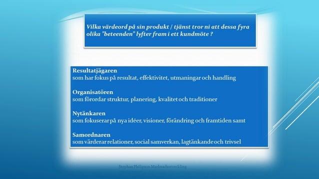 """2015-05-20Stephan Philipson Marknadsutveckling www.spmu.se 23 Från säljarens """"säljprocess till kundens köpprocess """""""
