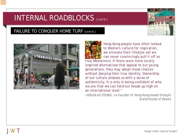 INTERNAL ROADBLOCKS                        (contd.)FAILURE TO CONQUER HOME TURF   (contd.)                                ...