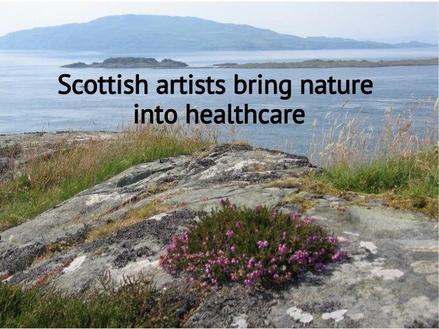 Scottish artists bring nature into healthcare