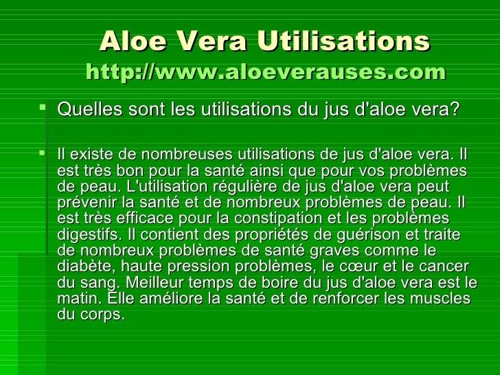 Aloe vera utilisations - Quelles sont les plantes que l on peut bouturer ...