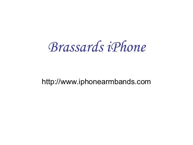 Brassards iPhone http://www.iphonearmbands.com