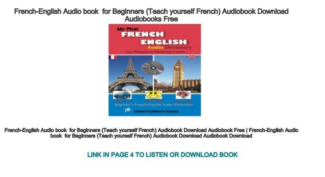 for french audio beginners books